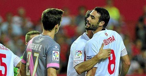 Vicente Iborra, jugador del Sevilla F.C..