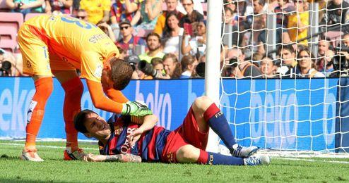 Leo Messi llegará justo al Clásico.