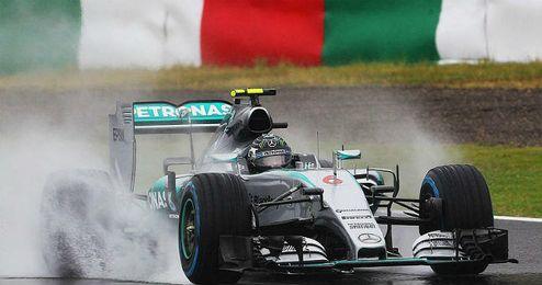 Rosberg saldrá desde la primera posición en Suzuka.