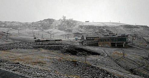 Imagen de la estación de esquí de Sierra Nevada hoy.