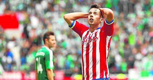El habilidoso extremo sportinguista es uno de los futbolistas preferidos del míster heliopolitano.