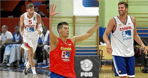 Tres de los siete elegidos que disputar�n la Supercopa.