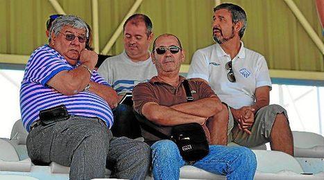 En la imagen, Antonio Gaitán junto a Juan Moreno.