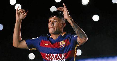 Neymar será el líder del Barça por la lesión de Messi.