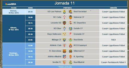 Ya se sabe el horario del Sevilla-Real Madrid