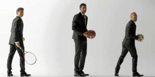 (VÍDEO) Iniesta, Ferrer y Ricky Rubio, a lo Bond