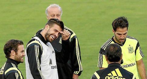 Piqué ha sido recibido con pitos en las últimas citas.