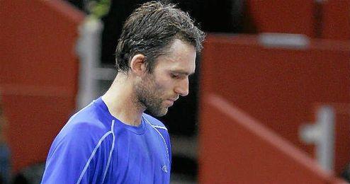Ivo Karlovic en el Masters Series de Madrid.