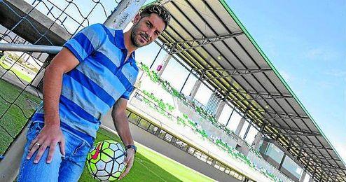 �lvaro Cejudo posa para ESTADIO en la ciudad deportiva b�tica.