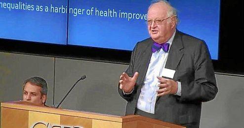 Angus Deaton, Nobel de Economía 2015.
