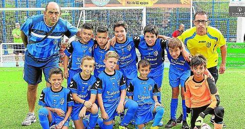 Imagen de uno de los equipos del Distrito Sur, La Oliva.