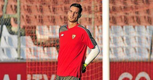 Sergio Rico ya está en Sevilla.