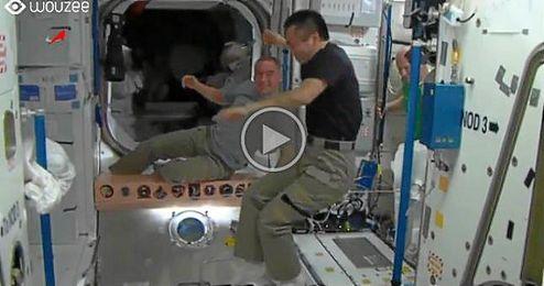 (Vídeo) Malabares espaciales