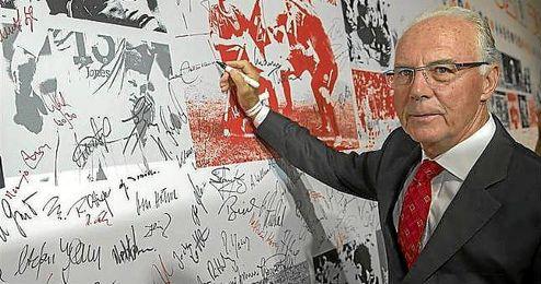 Beckenbauer, en una imagen de archivo.