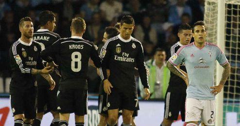Celta-Real Madrid de la temporada pasada.