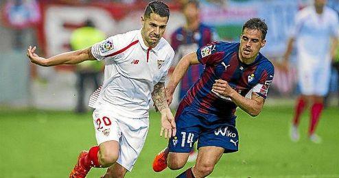 Tras pinchar de nuevo en Eibar, el Sevilla afrontará un exigente calendario en lo que resta de este mes y el siguiente.