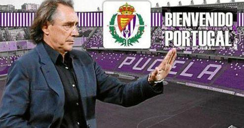 El Valladolid anuncia la contratación de Portugal como nuevo técnico.