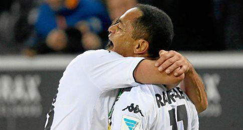 Raffael anotó el segundo gol del Gladbach.