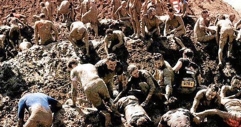Imagen de la pasada edición del Mud Day celebrado en Toledo.