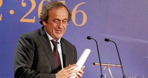 Michel Platini es uno de los candidatos a la presidencia de la FIFA.