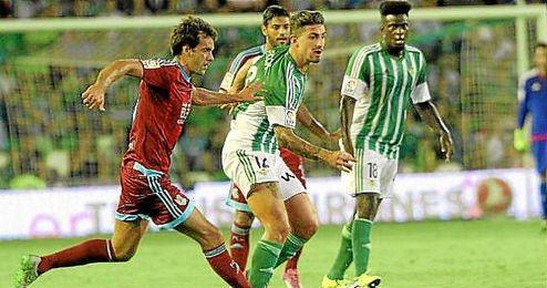El jugador del Betis, Cristiano Piccini.