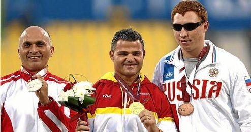El atleta ha sido oro en todas las competiciones en las que ha participado.