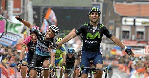 Alejandro Valverde sigue siendo referencia del ciclismo español a los 35 años.