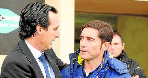 Emery ganó a Marcelino en Liga y le eliminó de la Europa League el año pasado.