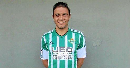 Joaquín ya luce la nueva marca.