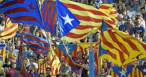 El colectivo cree que con esos actos se está politizando el Camp Nou.