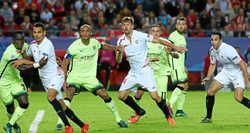 El Sevilla tiene un pie fuera de la Champions.