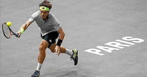 Ferrer no pudo ante Murray en París.