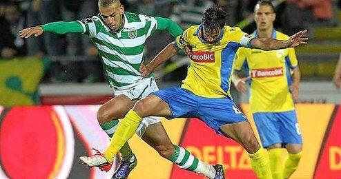 Imagen del encuentro del pasado domingo entre el Arouca y el SportingCP.
