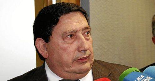 El presidente del Comité Técnico de Árbitros de la Real Federación Española de Fútbol (RFEF), Victoriano Sánchez Arminio.
