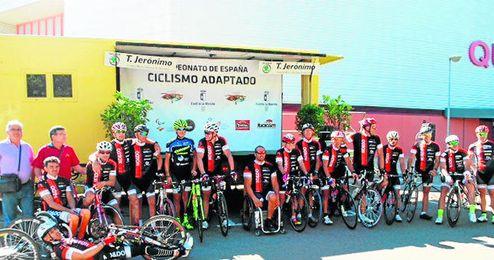 Equipo de C.D Minusv�lidos Sevilla No&Do.