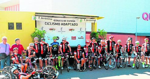 Equipo de C.D Minusválidos Sevilla No&Do.
