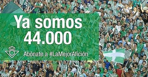Éxito de la campaña #LaMejorAfición