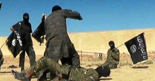 Daesh dominaba la zona.