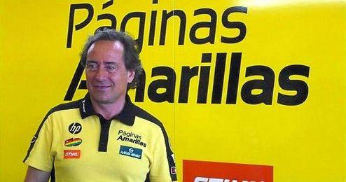 Sito Pons en el box del P�ginas Amarillas HP.