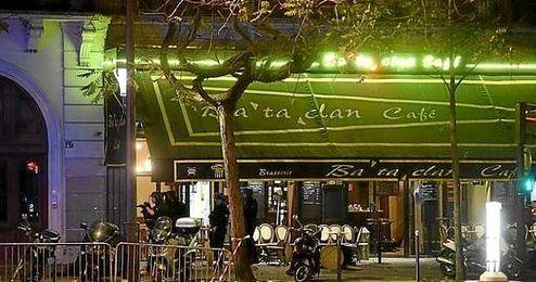 Imagen del exterior de la sala Bataclan de París.