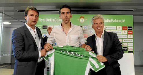 Jordi Figueras, jugador del Betis con el que no cuenta Pepe Mel.