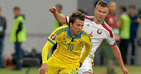 Konoplyanka será titular con Ucrania.