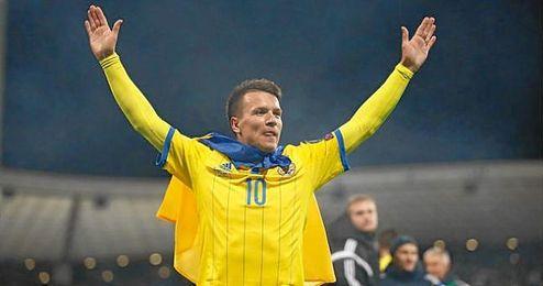 Konoplyanka no cree que Ucrania sea más débil que el Sevilla.