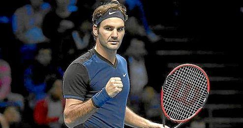Federer se ha impuesto a Nishikori en Londres.