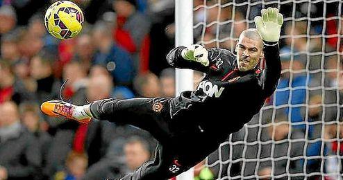 El Espanyol sonaba como posible destino de Valdés.