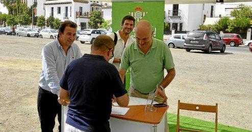'Ahora, Betis, Ahora' instalar� una carpa en el Villamar�n.