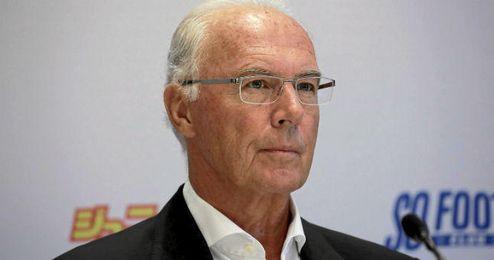 Beckenbauer confiesa que no llevaba los asuntos técnicos y administrativos.