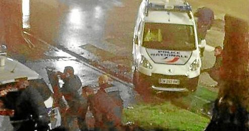 Imagen del dispositivo policial en Roubaix.
