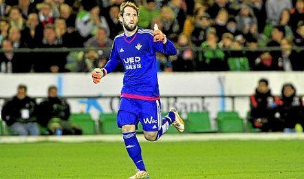 Dani Giménez espera tener la ocasión de jugar ante el Levante.