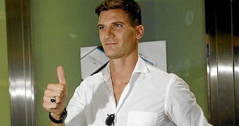 Imagen de su llegada a Sevilla en verano.